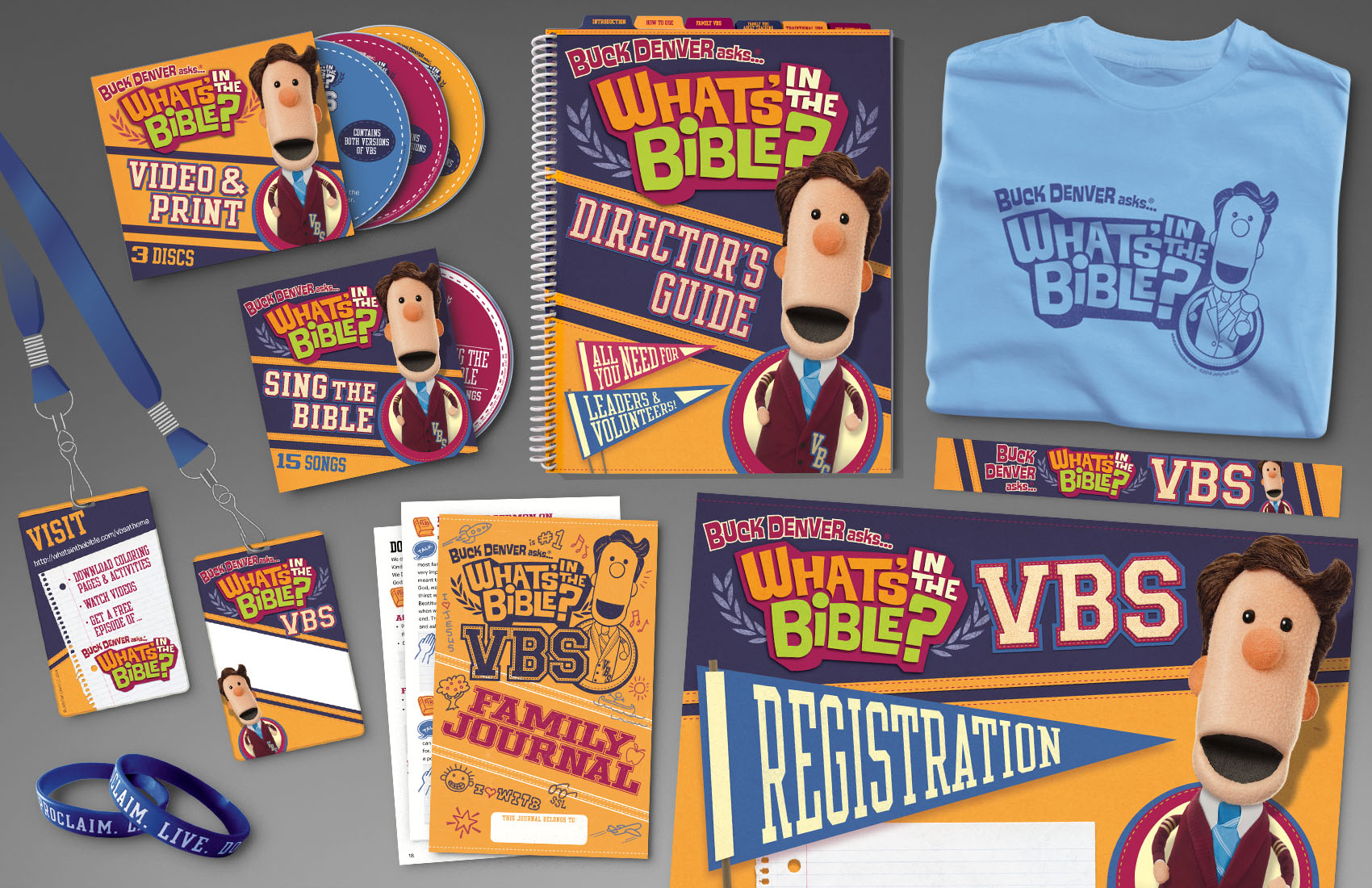 What's In The Bible VBS