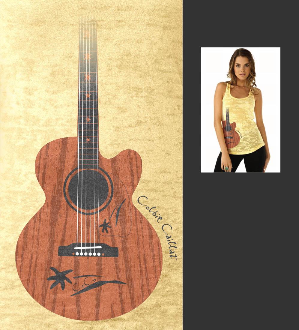 Tshirt-ColbieCaillat-Guitar