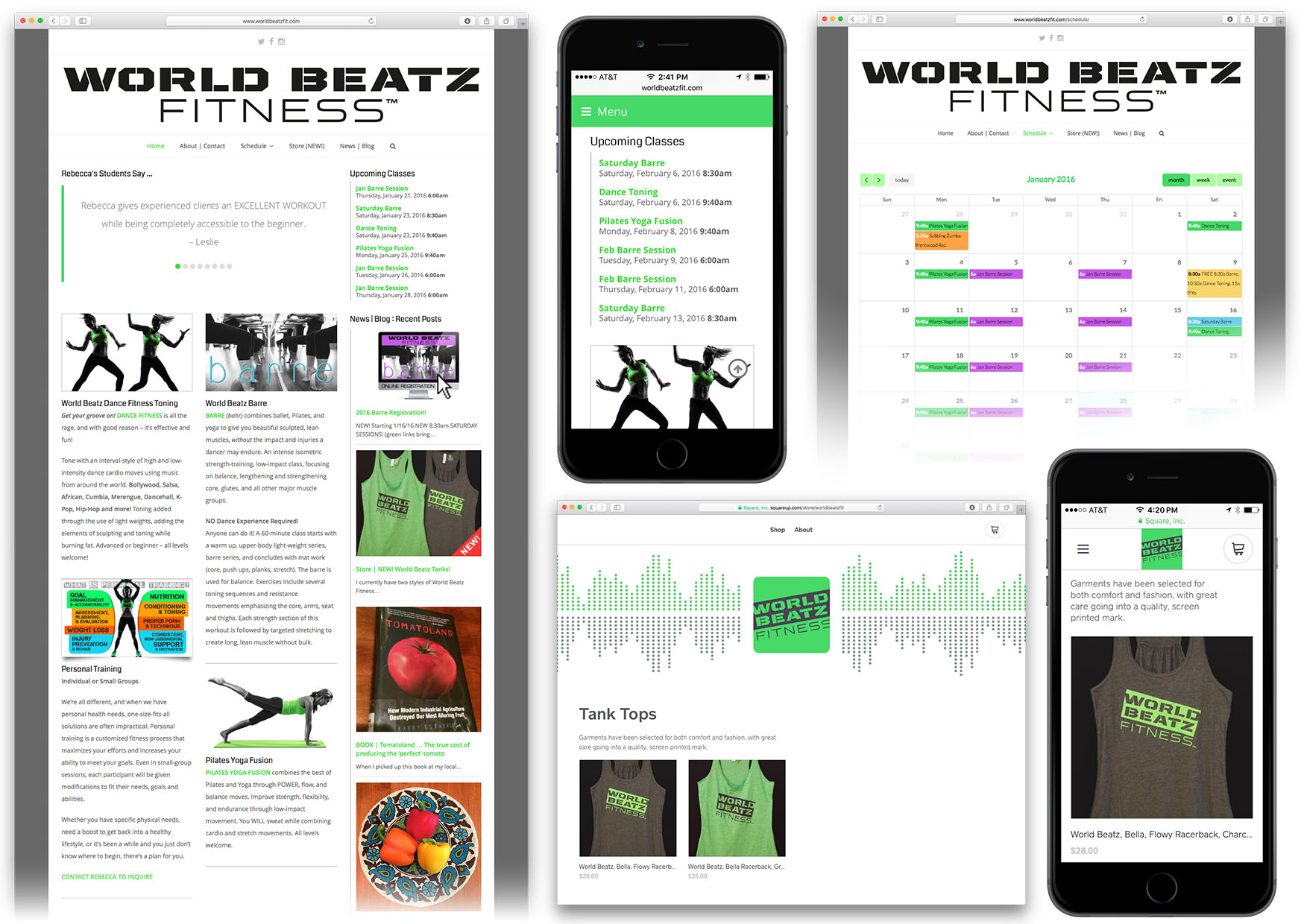 World Beatz Fitness Site