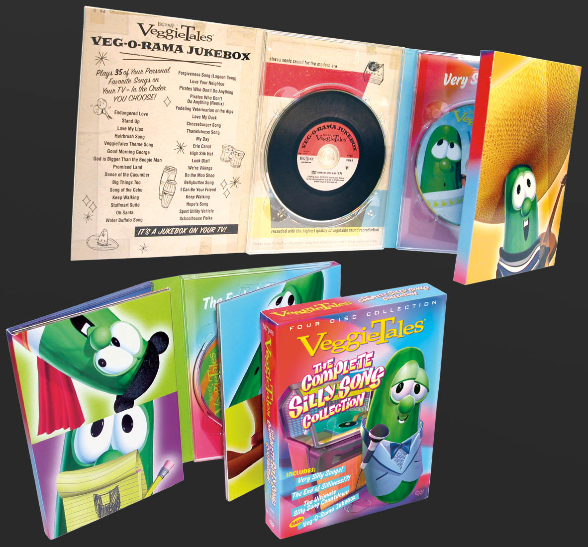 Silly Song Collection Packaging