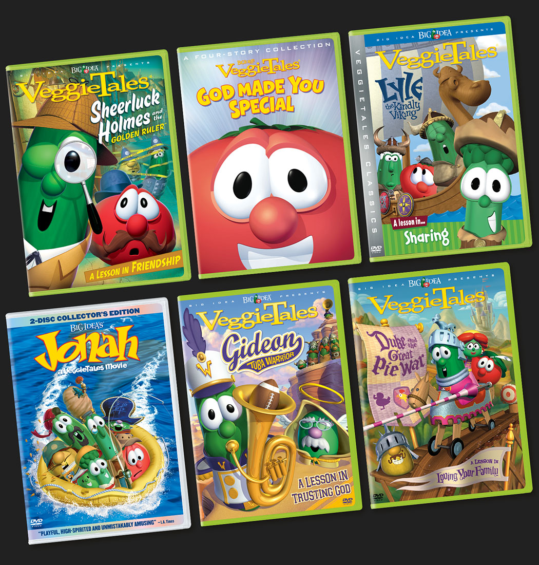 VeggieTales Packaging