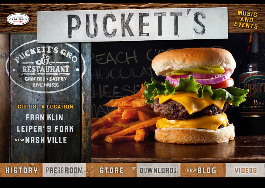 Client Focus: Puckett's Grocery & Restaurant